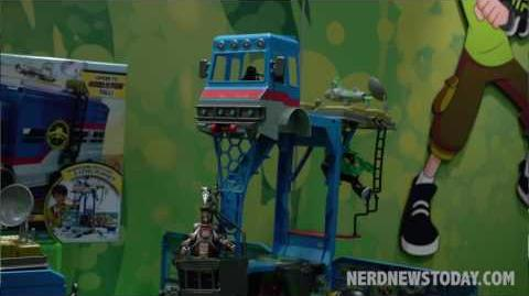 NY Toy Fair 2017 'Ben 10 Figures' & Playsets from Playmates
