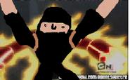 Brandon 10 - Heatblast vs the robbers