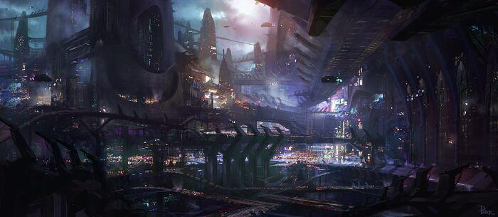 Futuristic Streets
