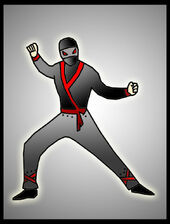 A ninja-like Guy For The Tammar
