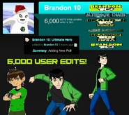 6,000 User Edits Special