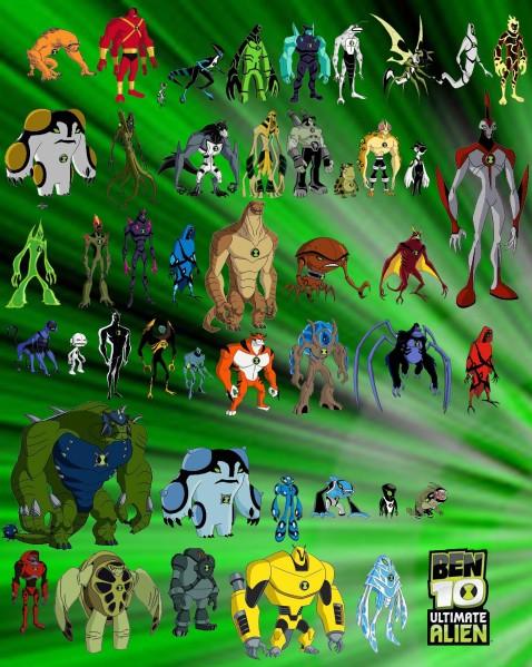 478px Todos Los Aliens De Ben 10 Ultimate Alien