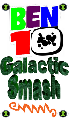 Ben 10 Galactic Smash Logo