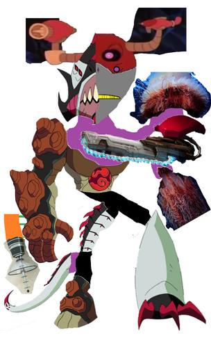 Super Mutant Cyborg Splitface