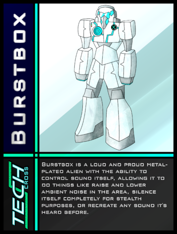 Tech Cross Card Burstbox