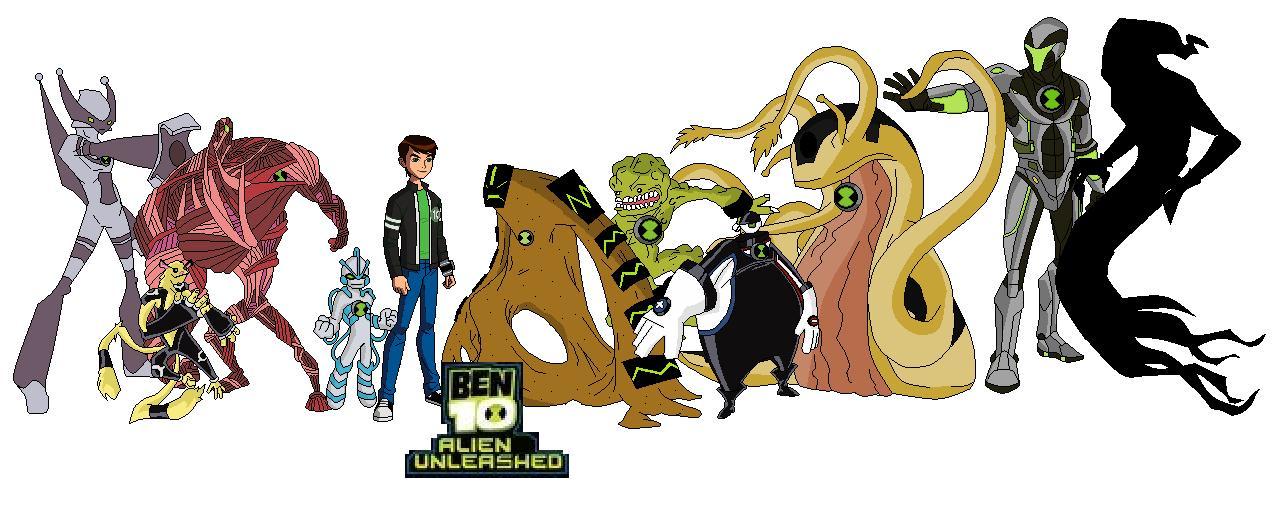 Ben 10 alien unleashed ben10fan fiction wiki fandom powered by wikia - Ben 10 tous les aliens ...