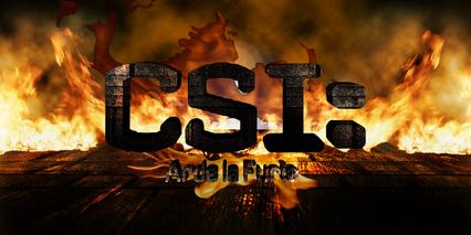 CSI Arde la Furia Logo