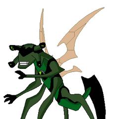 Prototipo de Insectoide en OV pose hecha por mi