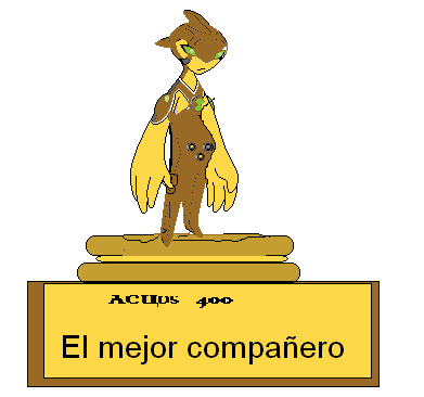 Trofeo para acuos 4000
