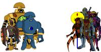 Nuevo alien vs los metalicos