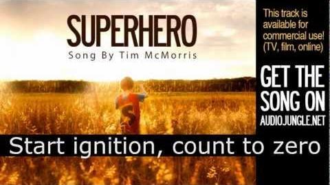 Superhero - Tim McMorris Lyrics