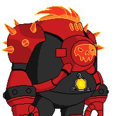 Hot Spot (Lanzar Fuego de sus Manos y celdas, Puede lanzar su Calavera del Pecho, Super-Fuerza)