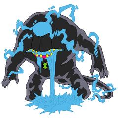ameva azul(creditos a usuario de ben 10 fan faction)