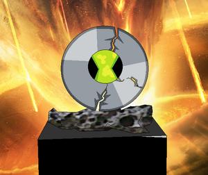 Omnitrix destruido