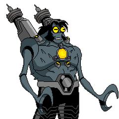 Dr. Anur (Sabe todo sobre el Sistema Anur y sus Habitantes, Es muy Inteligente, Puede lanzar Rayos de sus Pinzas, Puede ver la Sensación Térmica de todas las Especies).