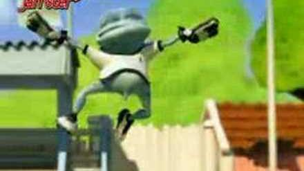 Crazy frog - we are the champions (2006) video clip