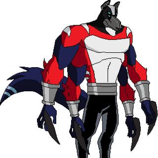 Fusionado con la esencia de Lobo y Simian