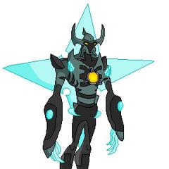 Diamondstar (Puede Volar, Puede lanzar Cristales de sus Manos, Puede lanzar su Estrella de la Espalda)