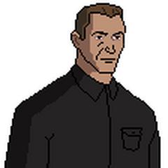 Tom Hoover (el padrastro de Eddy)