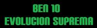 Logo Ben 10 Evolucion Suprema