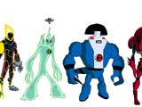 2 aliens en una trasformasion