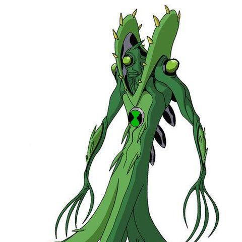 Este es WildVine en Ben 10:Evolutions