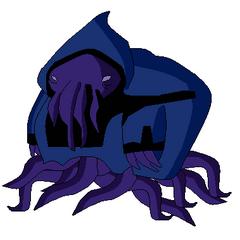 Alien del Pueblo Bajo parecido a Vilgax pose