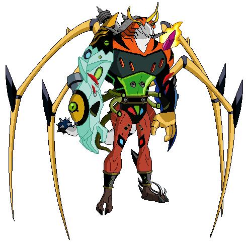 Mutante de Animo (D10)