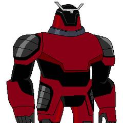 Pose de Techadon Robot Rojo arreglado por mi