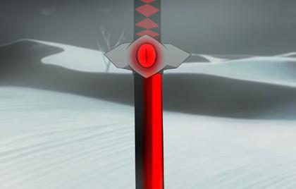 Nueva apariencia de la Espada del Ojo Demoniaco