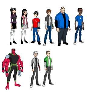 Personajes de Ben10FI