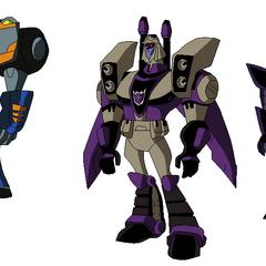 Pack de Transformers poses hechas por mi