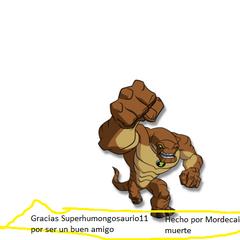 Regalo-Trofeo de Mordecai mmuerte