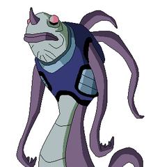 Alien Anguila de Pueblo Bajo hecho por mi
