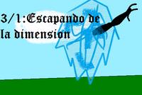Escapando de la dimension