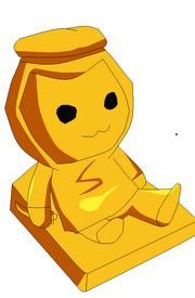 Oso de peloche base;3 - cosa de oro rara xd
