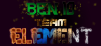 Logo Ben 10 Team Element (Creditos a Suprematrix)