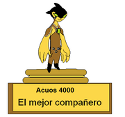 Trofeo para acuos 4000 mejorado