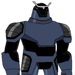 Pose de Techadon Robot Azul mejorado por mi
