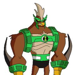 Kickin Hawk pose hecha por mi