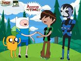 Ben and Rook in Adventure Time