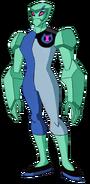 Gwen 10 Diamondhead (Omniverse)