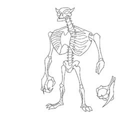 Czysty model szkieletu <a href=