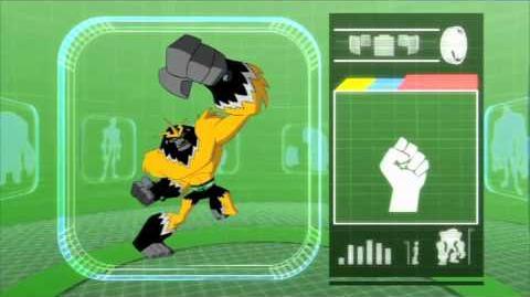 Shocksquatch - Nowy obcy w Ben 10 Omniverse