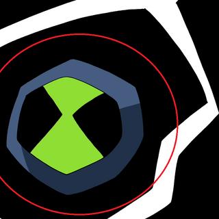 Błędny kolor symbolu Omnitrixa
