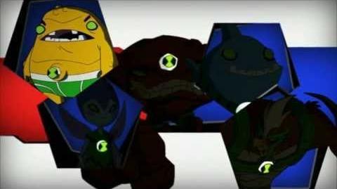 Ben 10 Aliens Video Cartoon Network