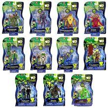 Figurki z serii Ben 10 Alien Force