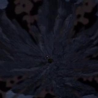 Krater jest zbyt duży