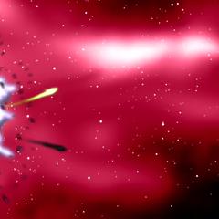Niebiańskie Istoty niszczą asteroidę