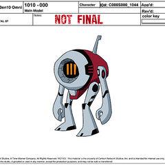 Główny model przypadkowego robota 07